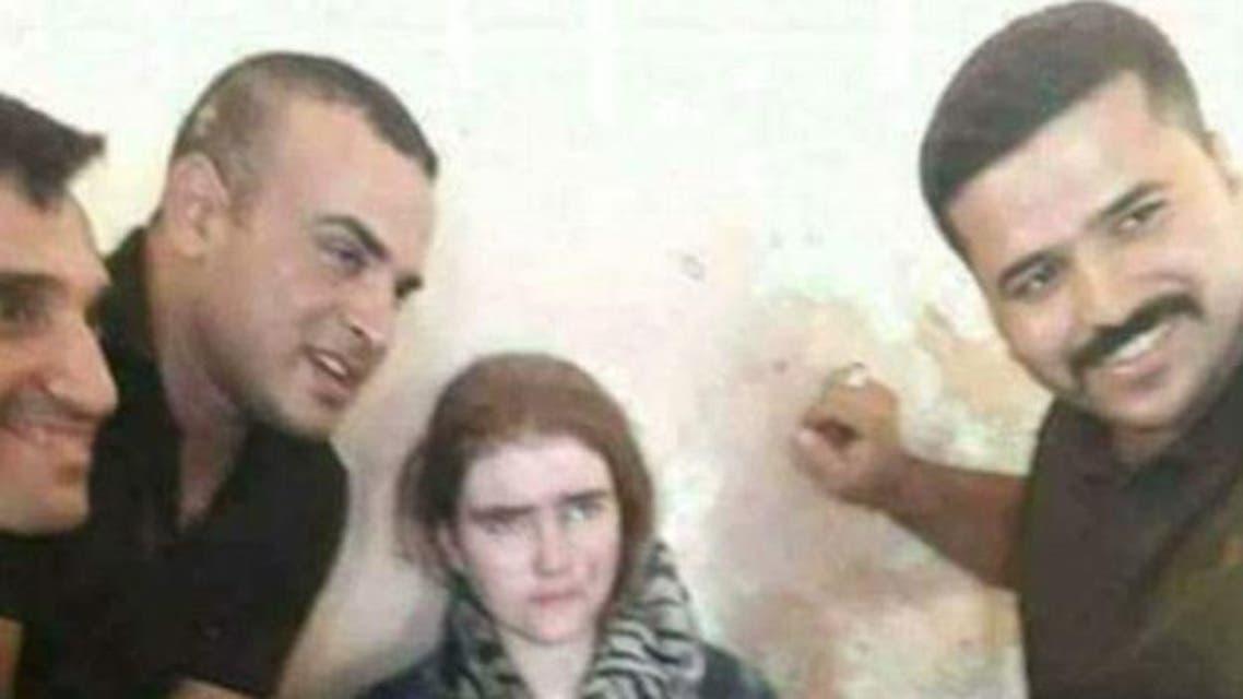 تلميذة ألمانية في الموصل