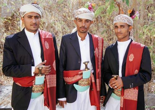 لباس سنتی یمنیها