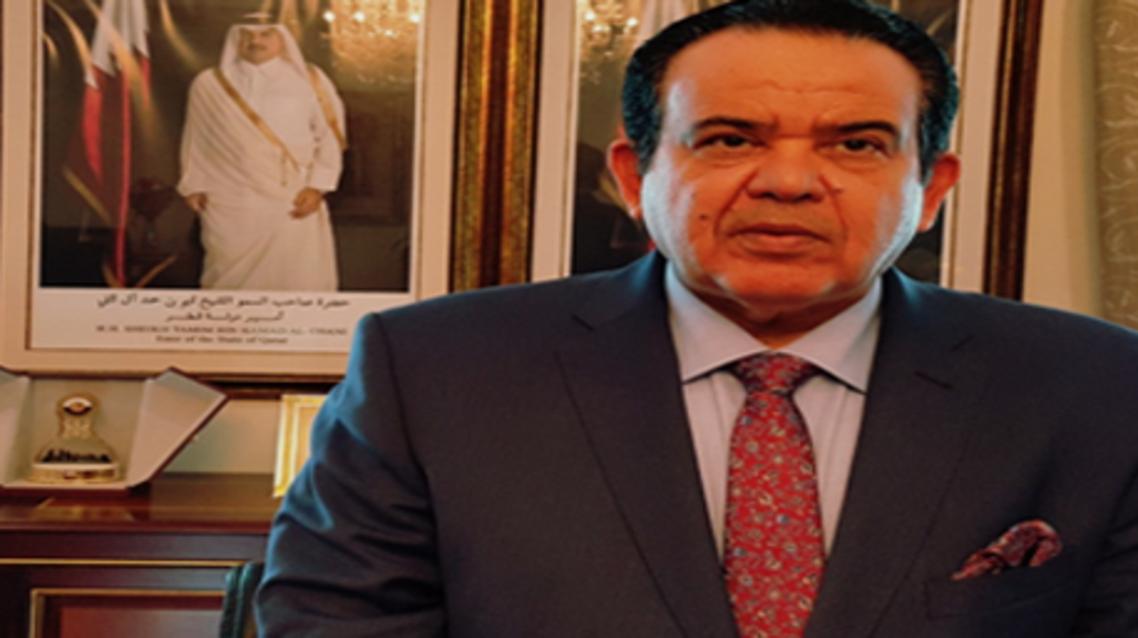 السفير القطري بتونس سعد ناصر الحميدي