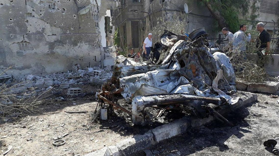 Suicide car bomber killed four people in Syria. (File Photo: Reuters)