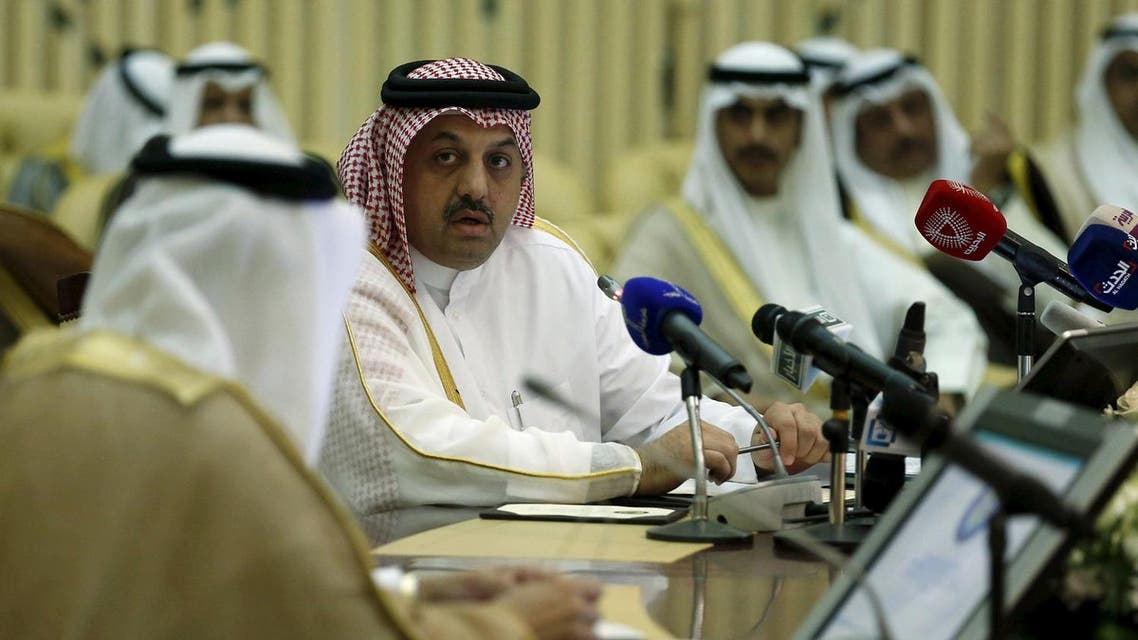 Qatar's Foreign Minister Khalid bin Mohamed Al-Attiyah presides over a Gulf Cooperation Council (GCC) meeting in Riyadh September 15, 2015. (File photo: Reuters)