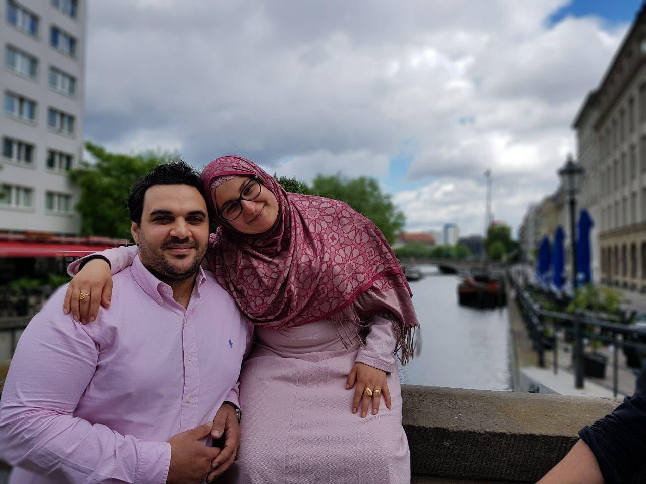 nisreen with husband