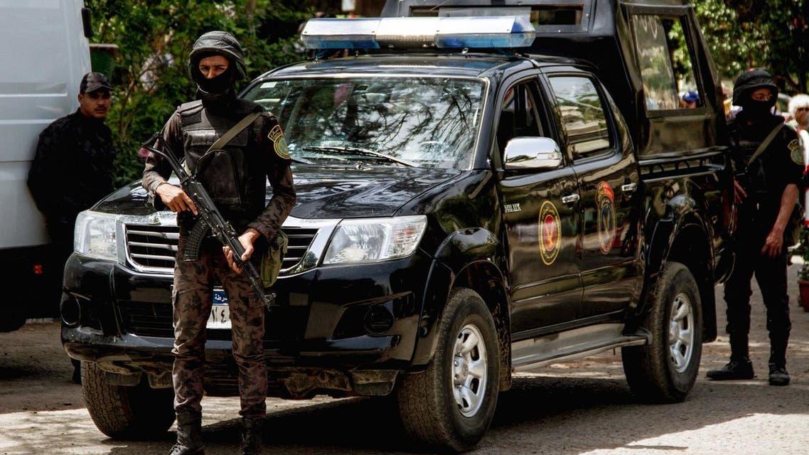 Egyptian security forces AF