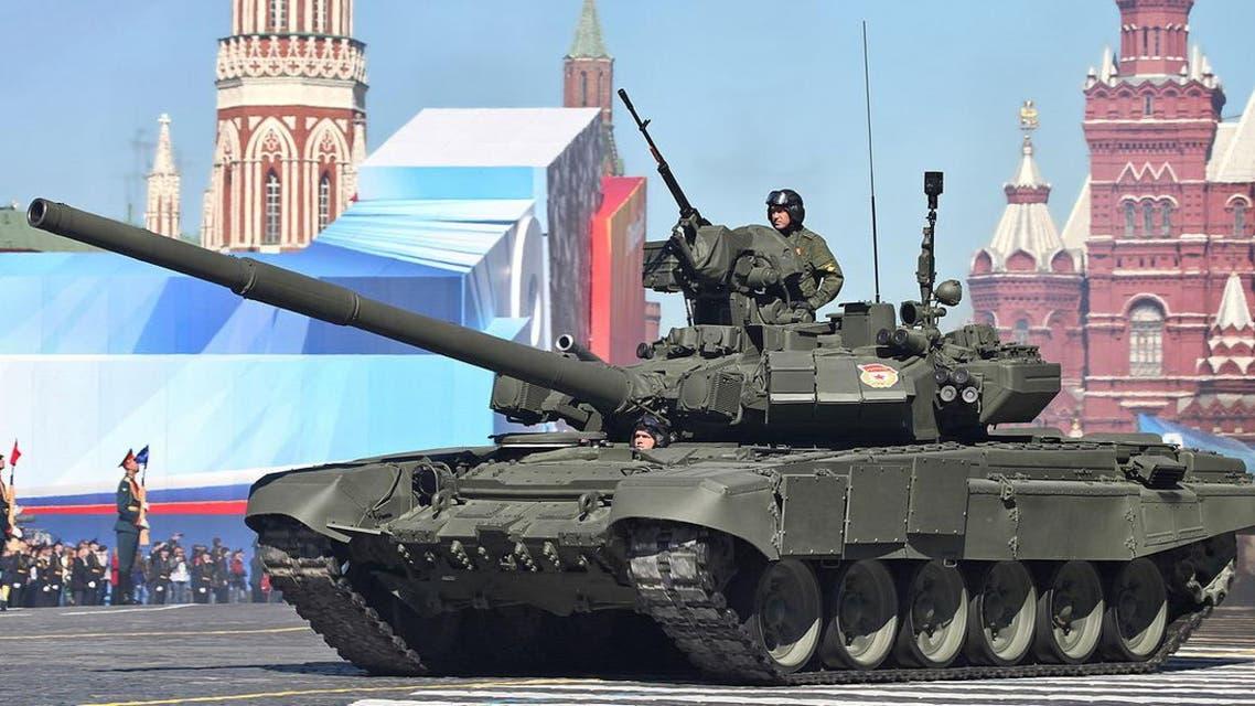 روسیا تبیع مئات الدبابات من نوع T-90 لإيران