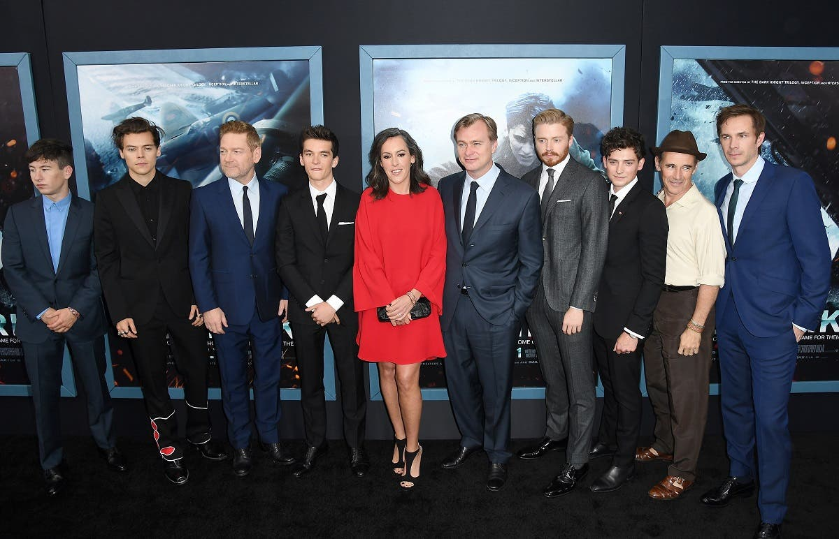 Cast and crew of Warner Bros. Pictures' Dunkirk attend US premiere at AMC Loews Lincoln Square. (AFP)