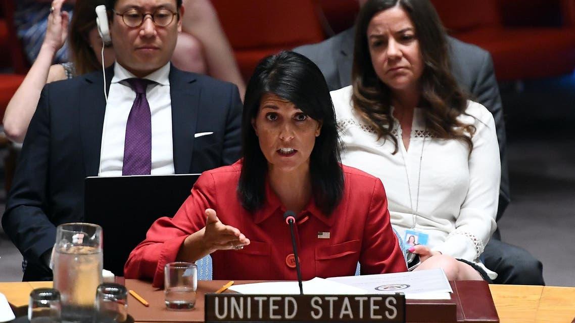 Nikki Haley. (AFP)