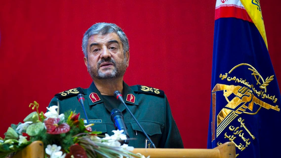 Iran's Revolutionary guards commander Mohammad Ali Jafari. (File photo: Reuters)