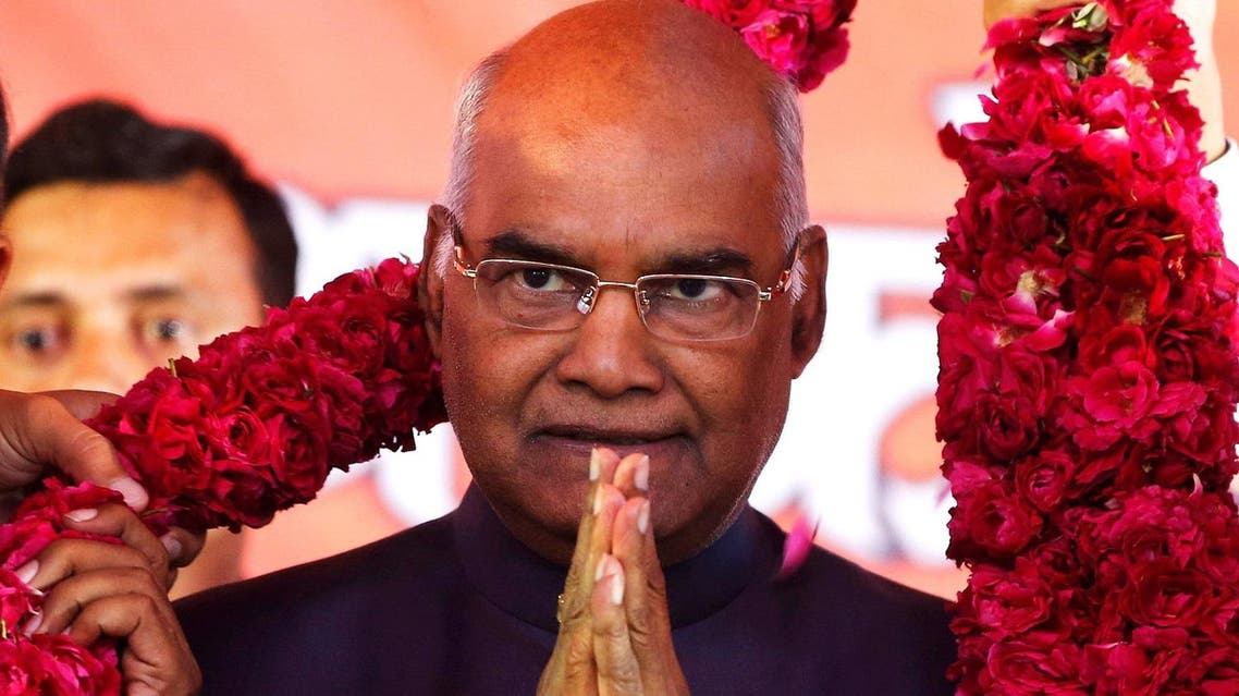 Ram Nath Kovind, who was declared elected as India's new President on Thursday.  He will replace Pranab Mukherjee, a former senior member of the Congress party, on July 25. (Reuters)