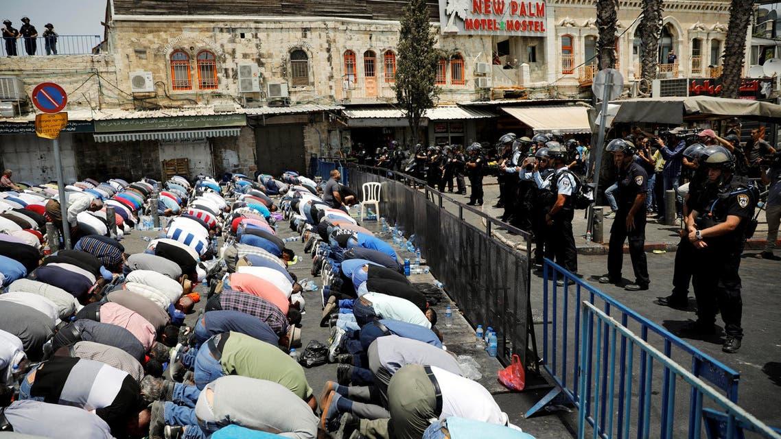 مواجهات نصرة للمسجد الأقصى
