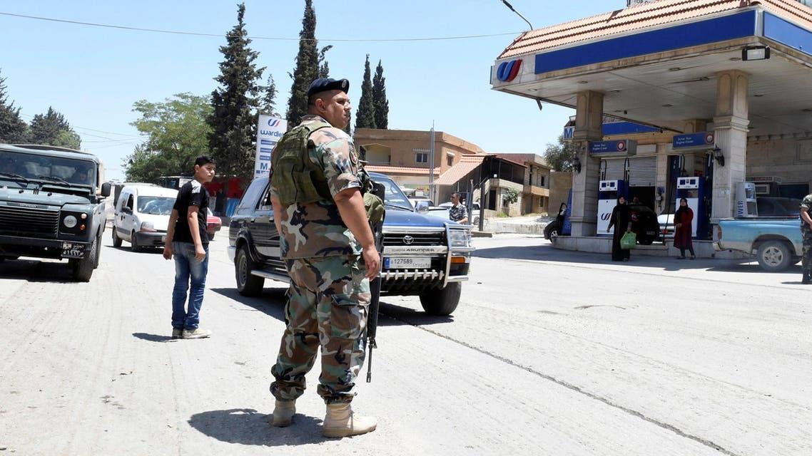 من عناصر الجيش اللبناني في عرسال