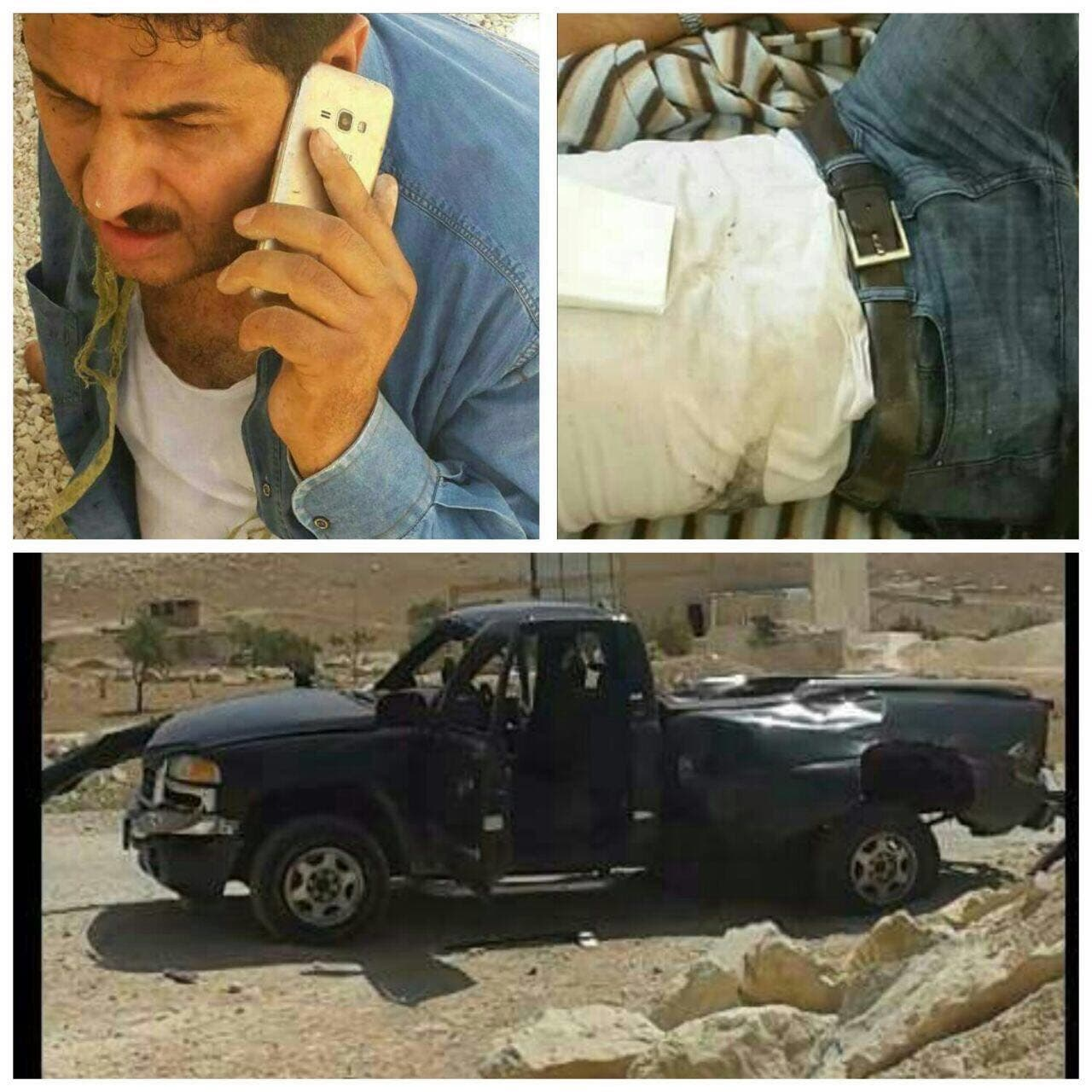 أحمد الفليطی که برای مذاکره رفته بود ولی زخمی شد