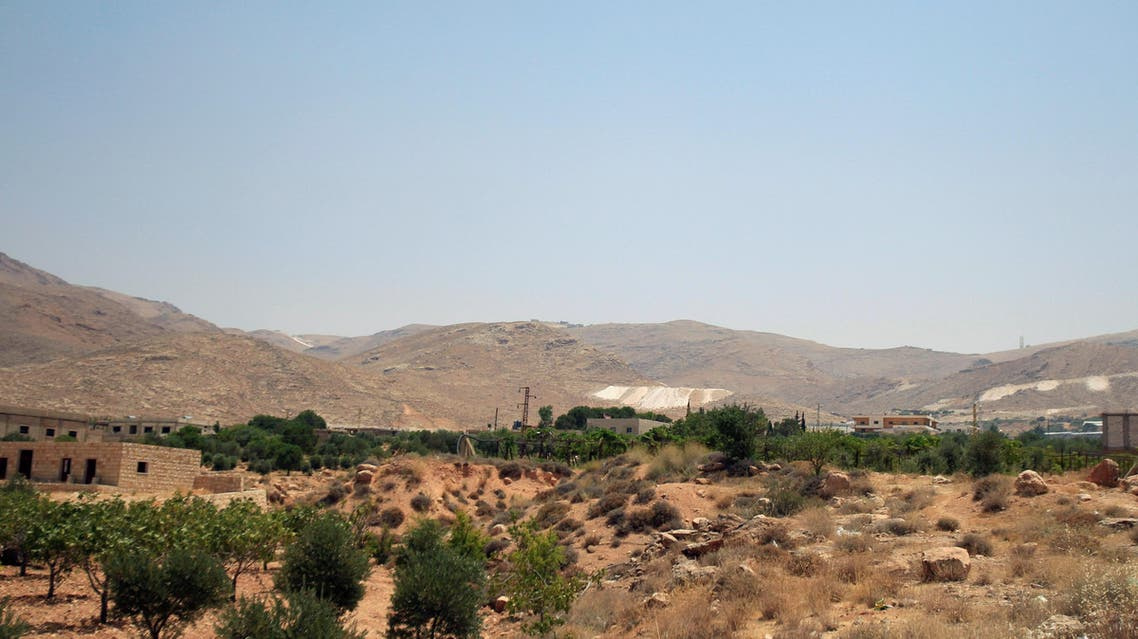 Arsal mountains are seen from Labwe, at the entrance of the border town of Arsal, in Bekaa Valley, Lebanon July 22, 2017