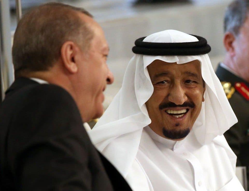 ملک سلمان ورجب طیب اردوغان