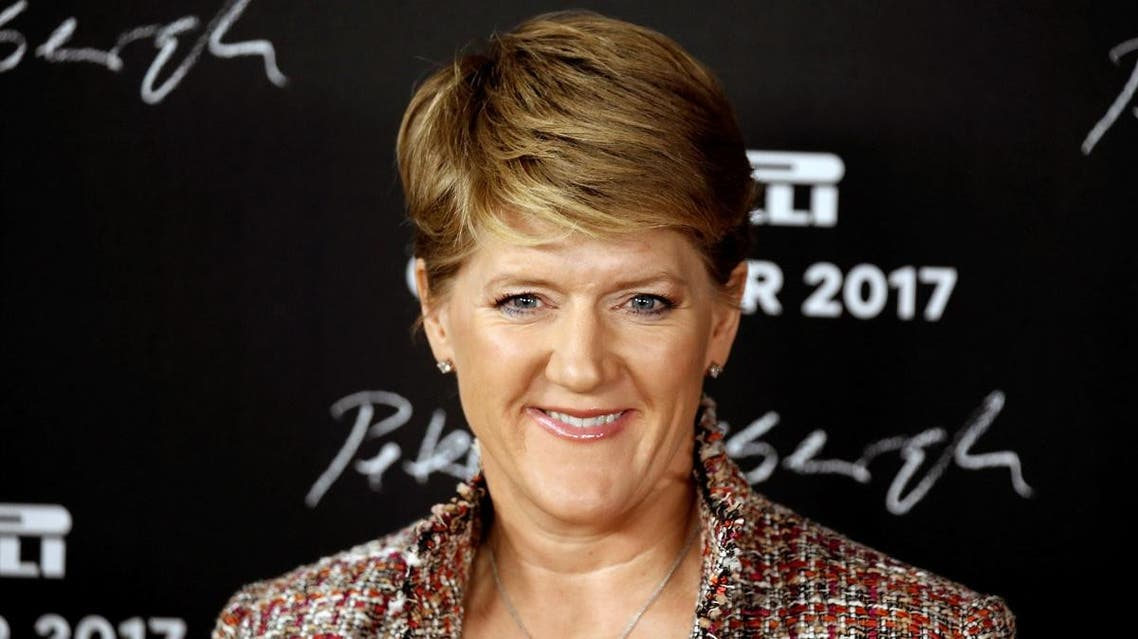 BBC presenter Clare Balding attends a photocall for launching of the Pirelli Calendar 2017 in Paris. (Reuters)