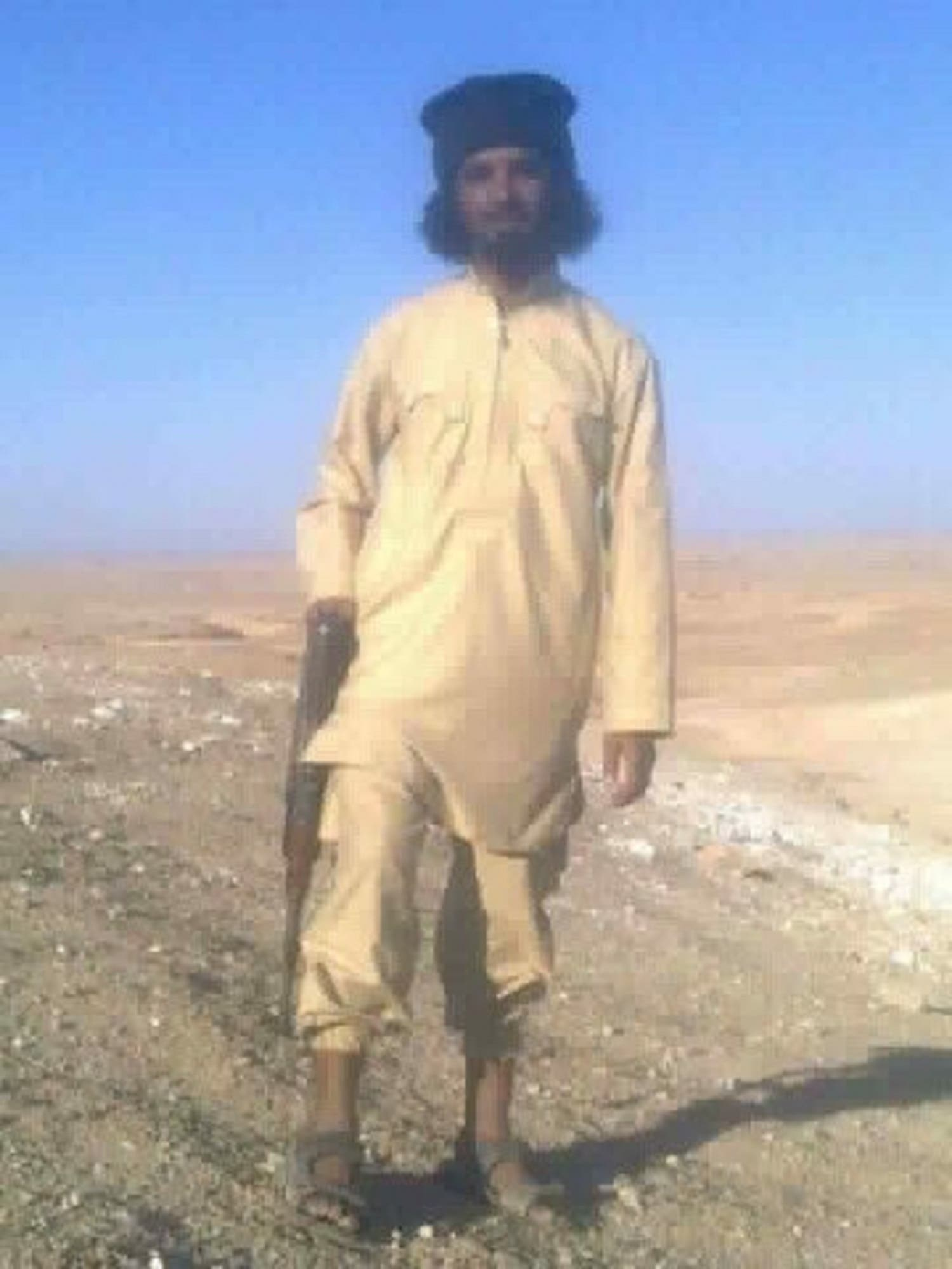 ISIS judge of the 'State of the Tigris' called Mullah Sajid Ahmed Ali Shargi. (Supplied)