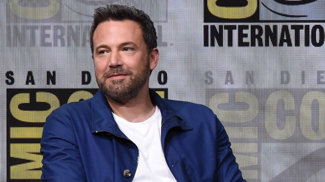"""Actor Ben Affleck attends the Warner Bros. Pictures """"Justice League"""" Presentation during Comic-Con International 2017 at San Diego Convention Center. (AFP)"""