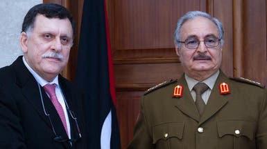 حفتر يصل موسكو لإجراء محادثات مع السراج حول الهدنة الليبية
