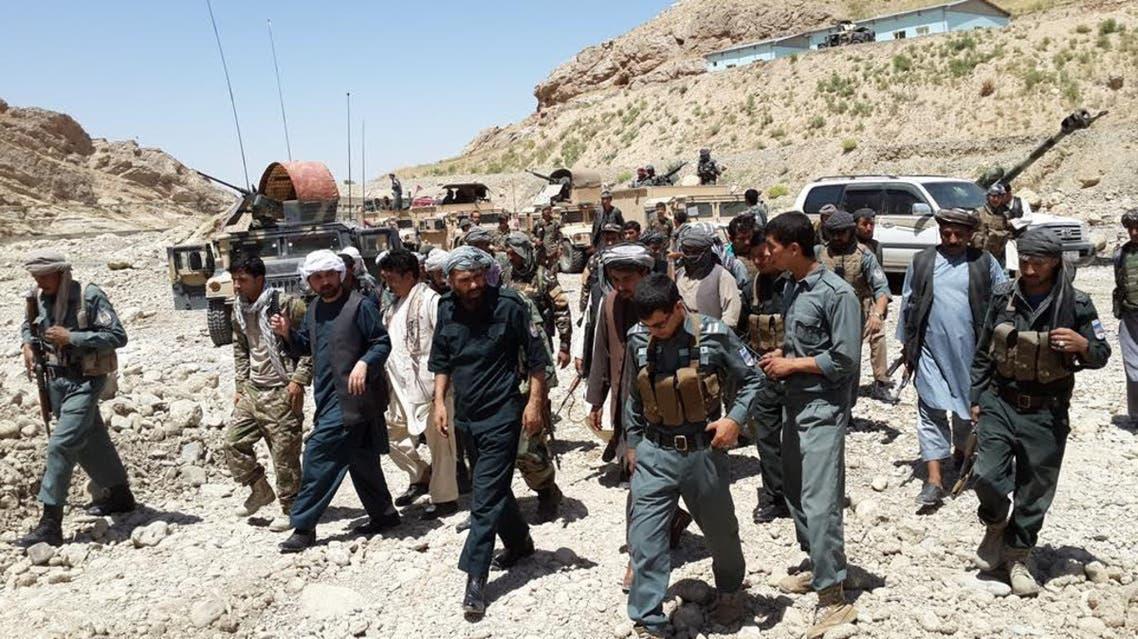 130 پولیس در فاریاب افغانستان به ناچار به گروه طالبان تسلیم شدن