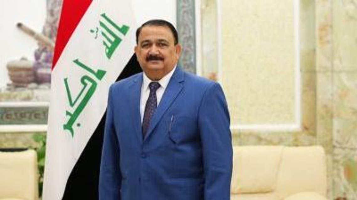 وزير الدفاع العراقي عرفان الحيالي