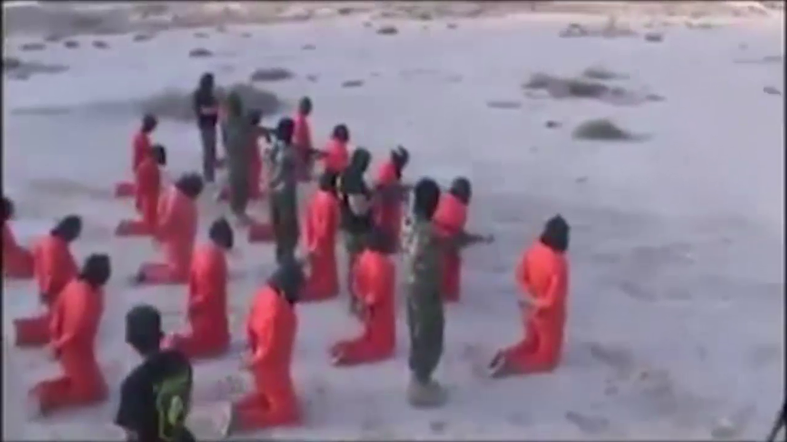 video  libyan army commander commands over execution of