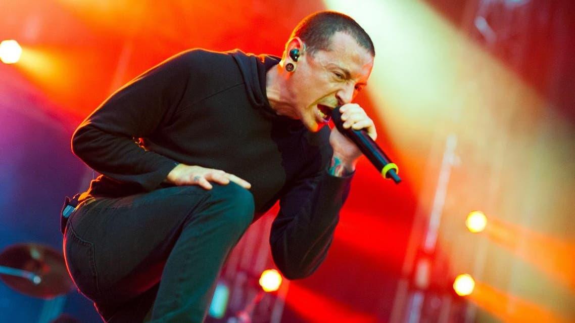 Linkin Park performs on Linkin Park Live World Tour 2012 at Romexpo Bucharest,June 6, 2012 in Bucharest, Romania. (Shutterstock)