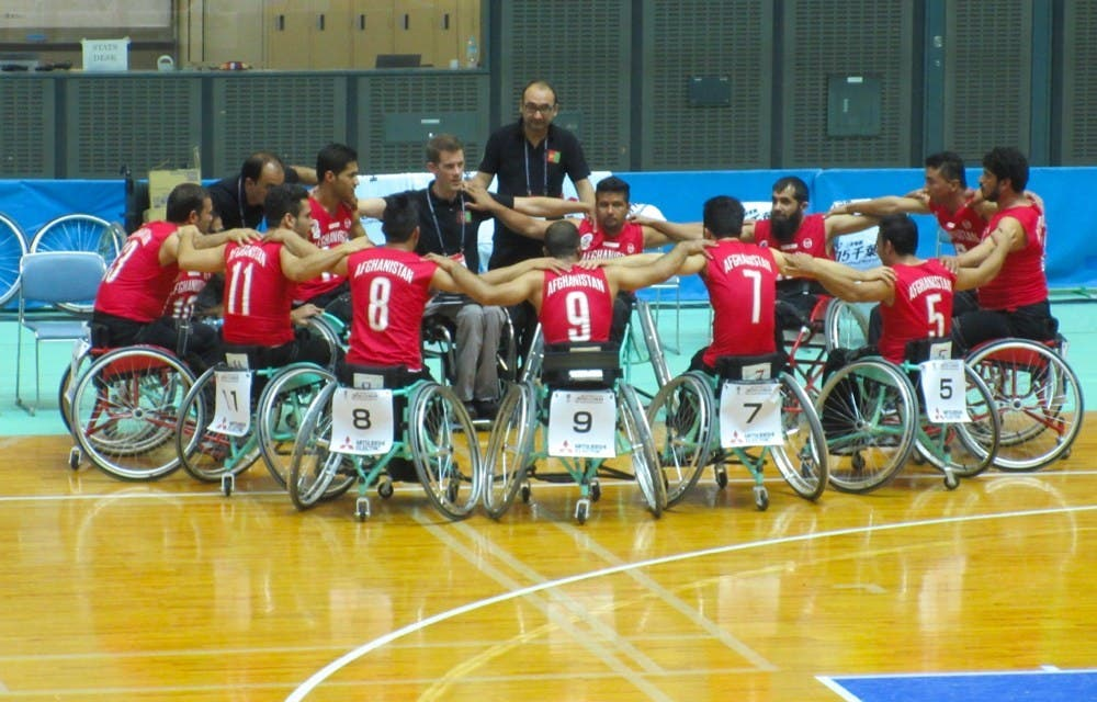 Markt has trained more than 500 wheelchair basketball players across nine provinces. (Photo courtesy: Jess Markt)