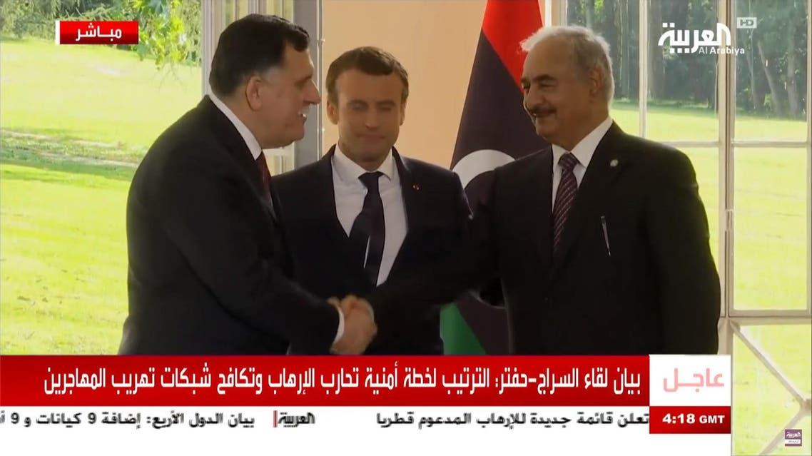 Libyan rivals voice joint support for plan to end crisis