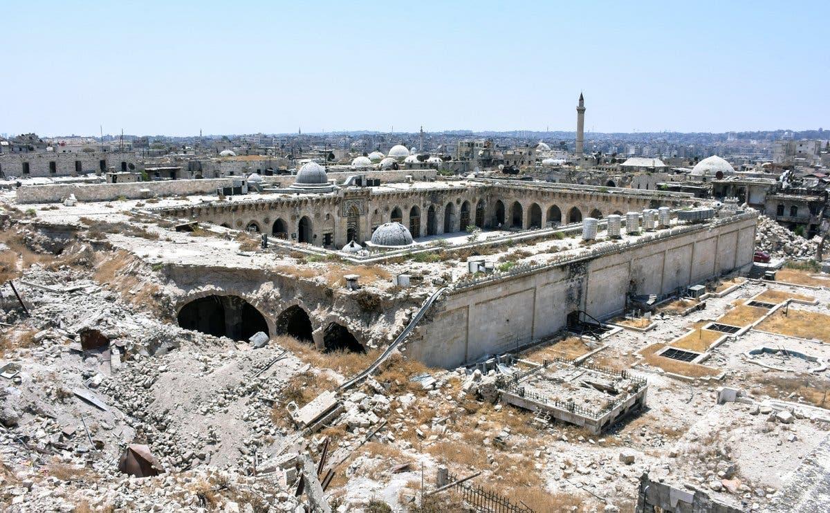 الجامع الأموي في  حلب