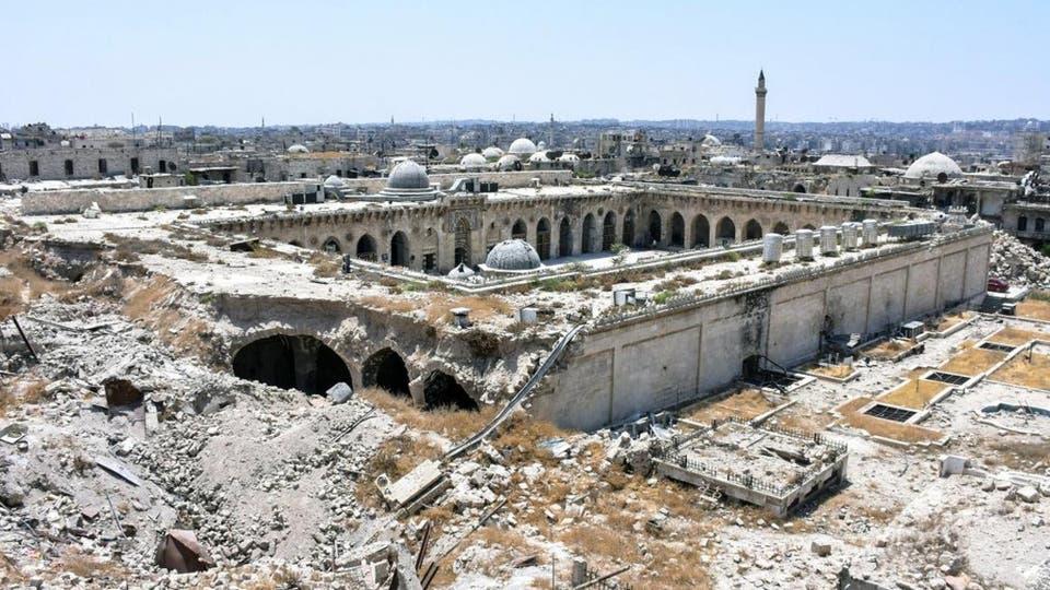 الجامع الأموي تعرض لأضرار واسعة بفعل الحرب