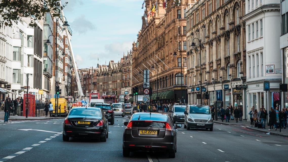 سيارات لندن بريطانيا