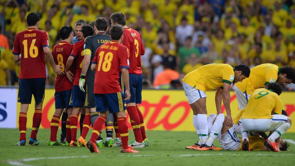 البرازيل إسبانيا