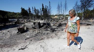 حرائق الغابات تجلي الآلاف جنوب فرنسا