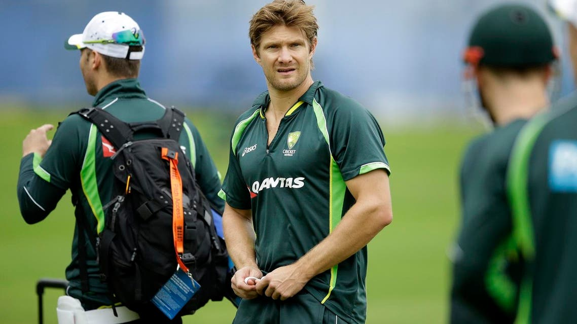 Australia's Shane Watson takes part in a training session at Lord's cricket ground in London, Tuesday, July 14, 2015. (File photo: AP)