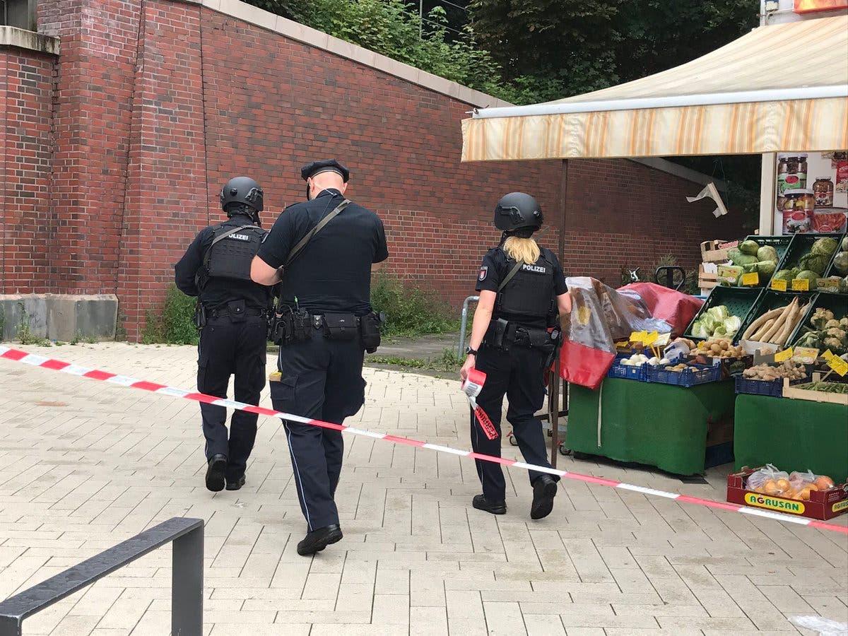 الشرطة اعتقلت المهاجم