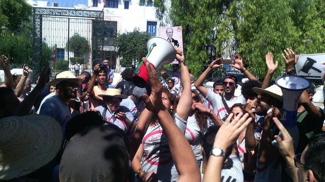 تونس.. مظاهرات ضد قانون المصالحة مع رموز النظام السابق