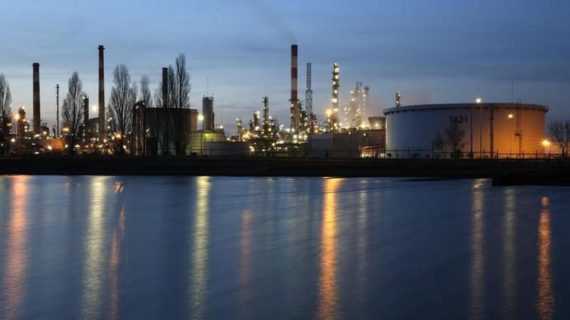 Oil refinery of Total in France. (File photo: Reuters)