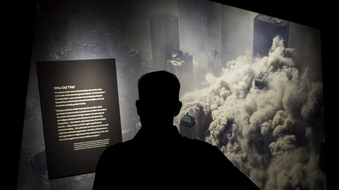 Visitors tour the new 9/11 Tribute Museum during the inaugural tour, June 13, 2017 in New York . (AFP)