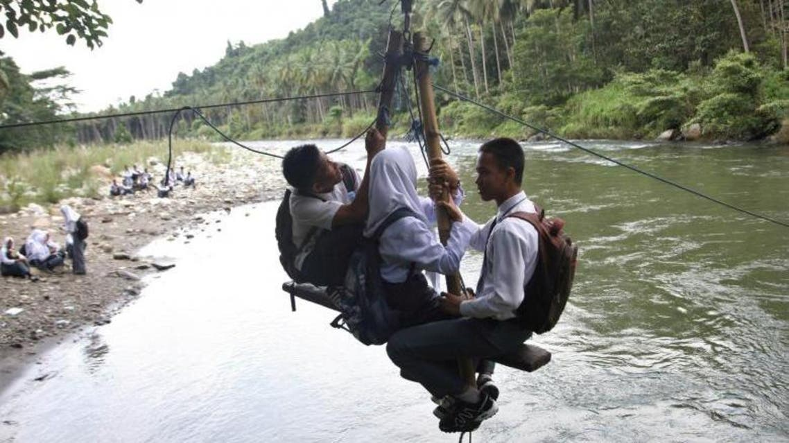 The long journey to school