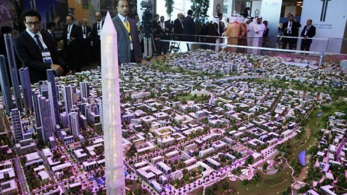 The New Cairo Capital project is predicted to transform the future of Egypt. (File photo: Reuters)