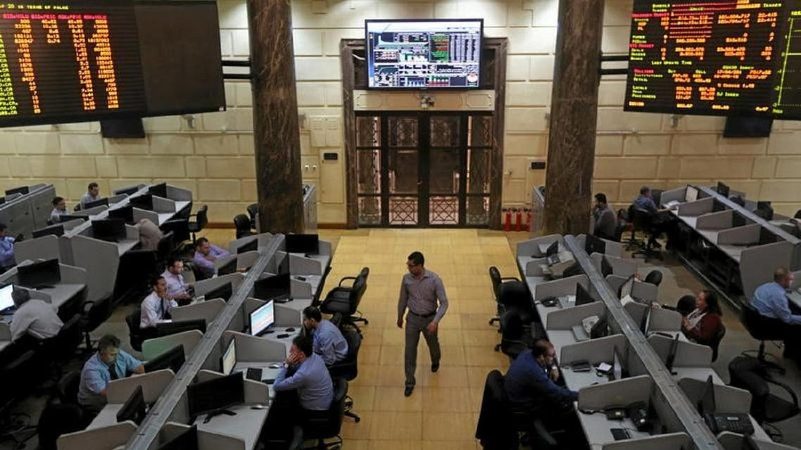 Dealers at the Cairo stock exchange. (File photo: Reuters)