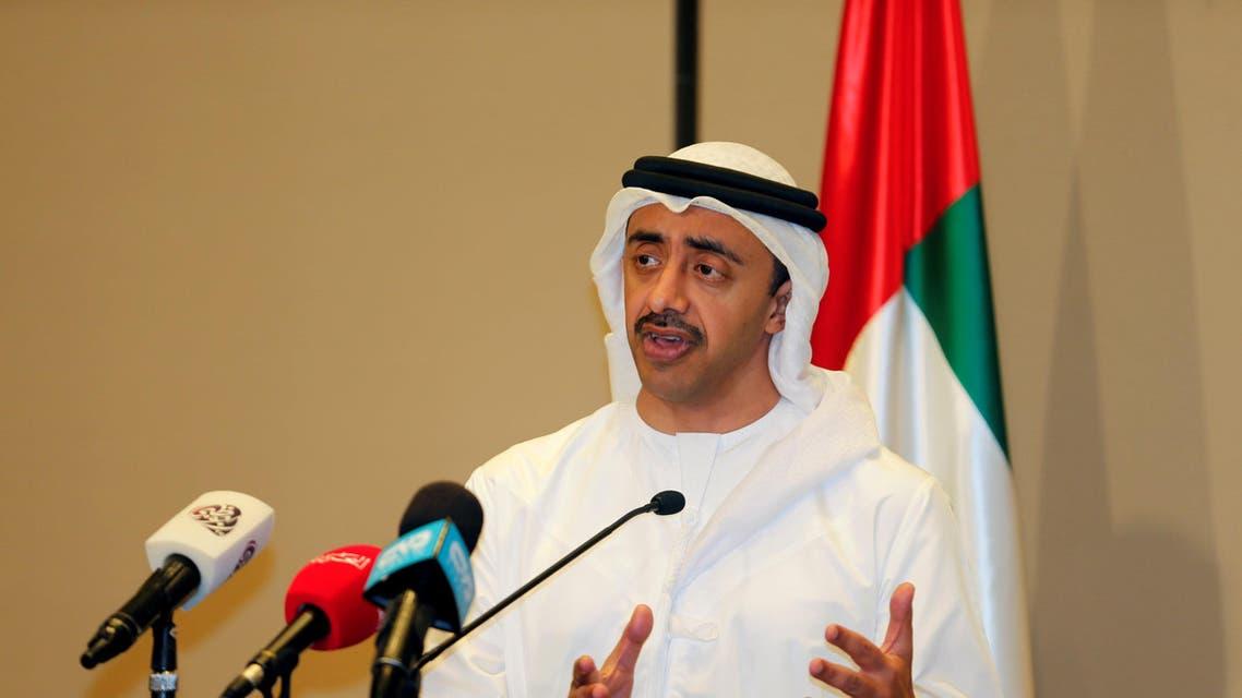 وزير خارجية الإمارات عبدالله بن زايد في المنامة