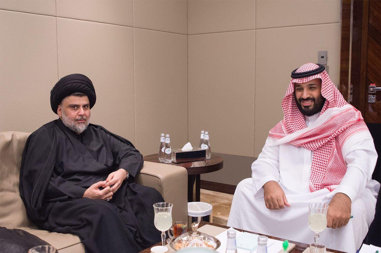 muqtada al-sadr mohammed bin salman