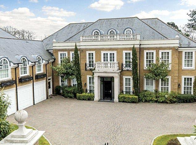 خانه 6.5 میلیون دلاری جان تری فوتبالیست بریتانیا