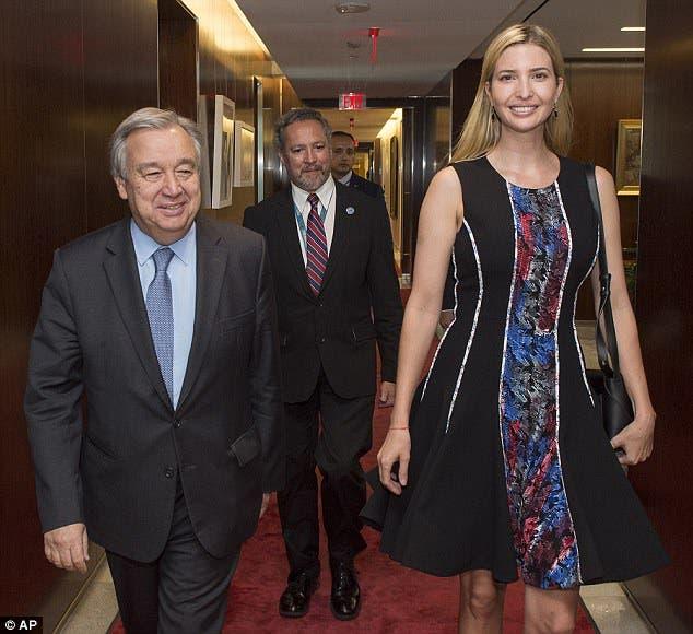 مع الأمين العام للأمم المتحدة