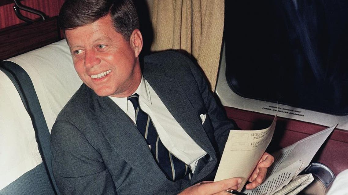 John F. Kennedy, the United States' 35th president, was assassinated in Dallas on Nov. 22, 1963. (AP)