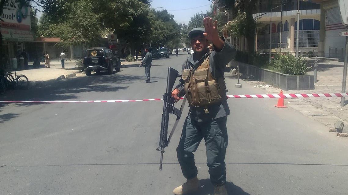 هجوم انتحاري أمام السفارة العراقية في كابول