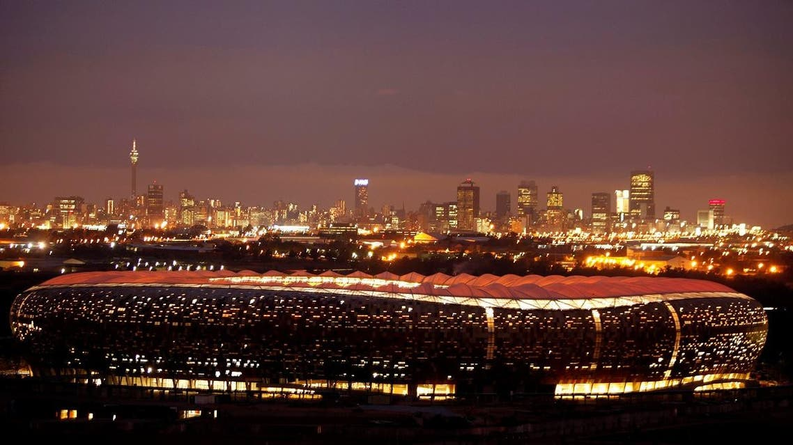 A general view of the FNB Stadium in Johannesburg, South Africa, December 8, 2009. (Reuters)