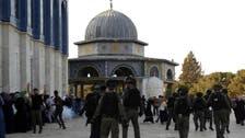 بیت المقدس : 1100 یہودی آباد کاروں کا مسجد اقصی کے صحن پر دھاوا