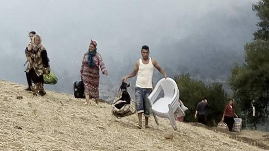 حرائق ـ تونس