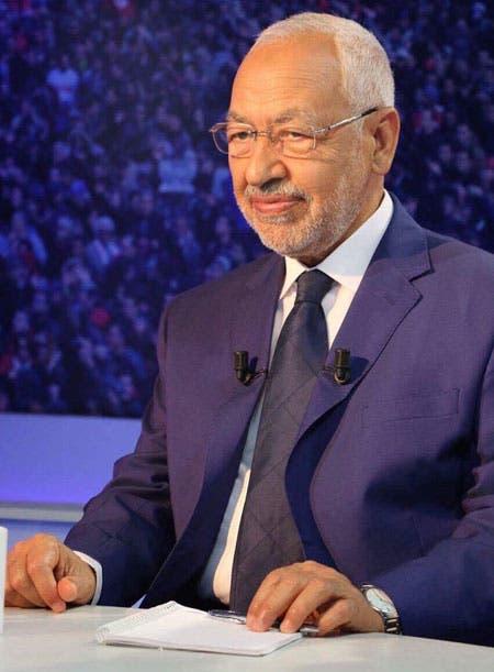 رئيس حركة النهضة التونسية راشد الغنوشي